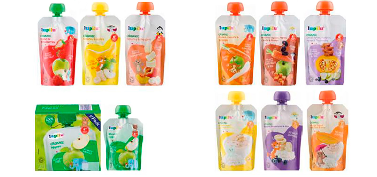 Lupilu Baby Food Pouches