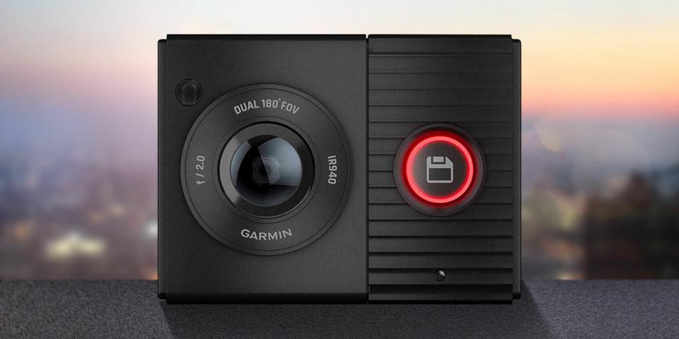 Garmin launches its first dual-camera dash cam