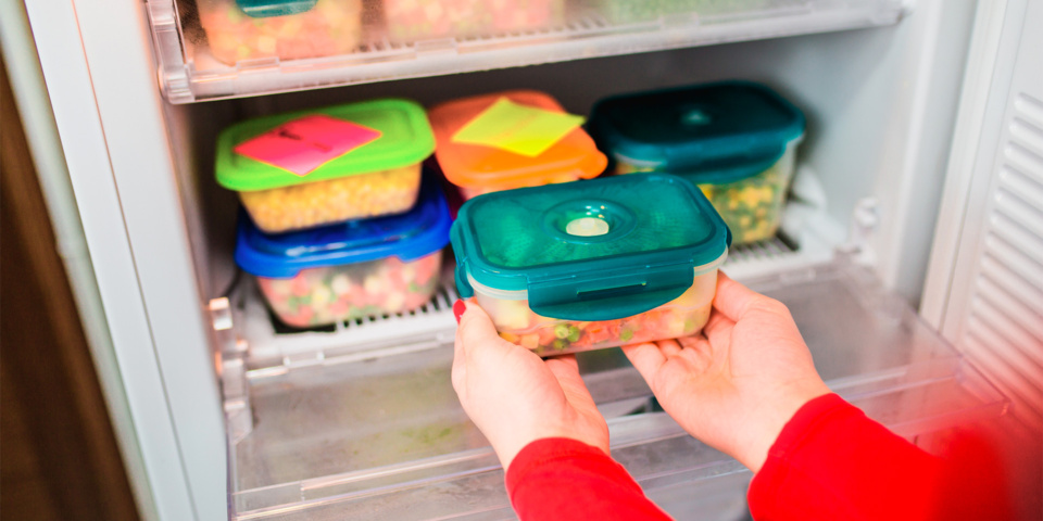 Surprising foods you can't freeze and a reminder of what you can