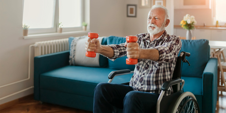 How older people can stay active during lockdown