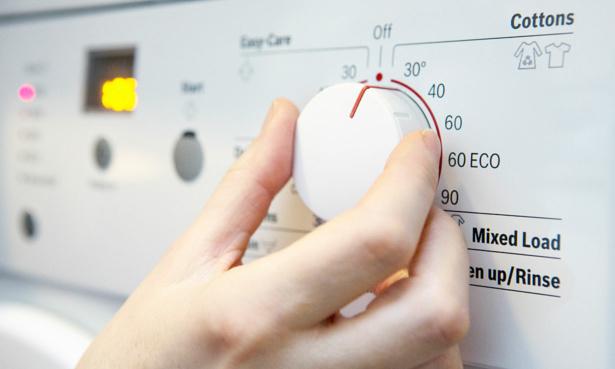 Washing machine at 30 degrees