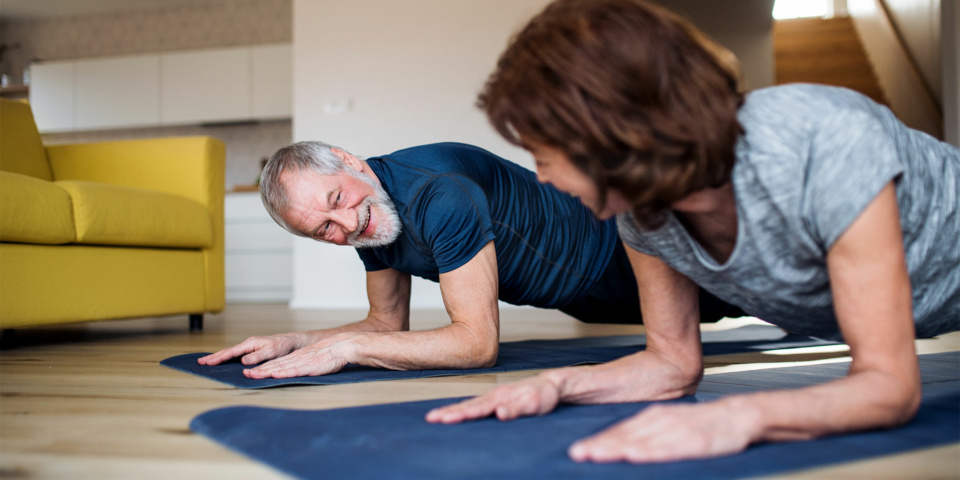 10 top tips for staying fit from home