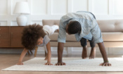 Five unusual ways to stay fit at home