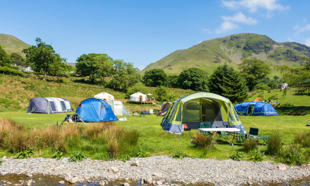 UK campsites safe