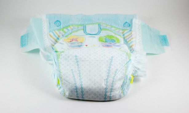 backsheet of a disposable nappy