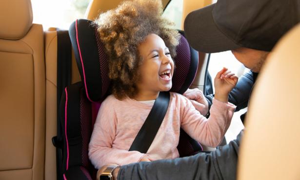older child in car seat