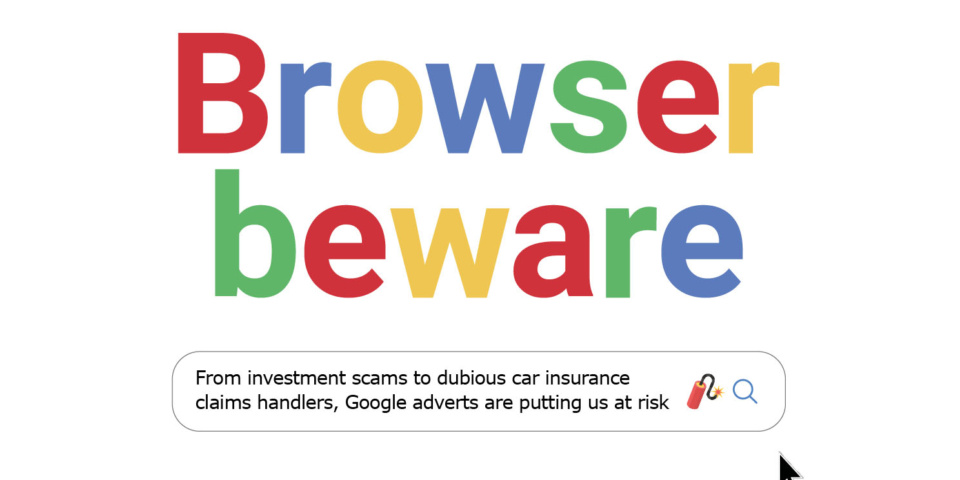 How scammers use Google to lure victims