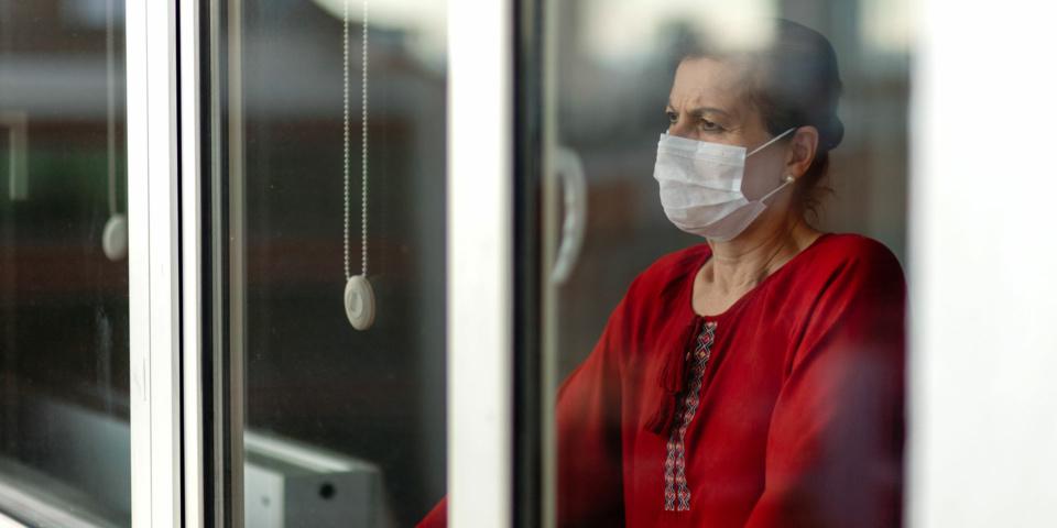 Coronavirus has left many older people too afraid to leave the house