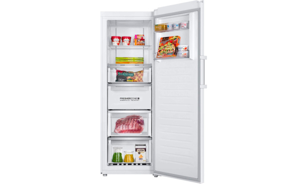 The Haier-H3F-280WSAAU1 fridge freezer
