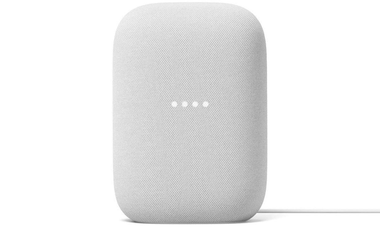 Google Nest Audio in Chalk colour