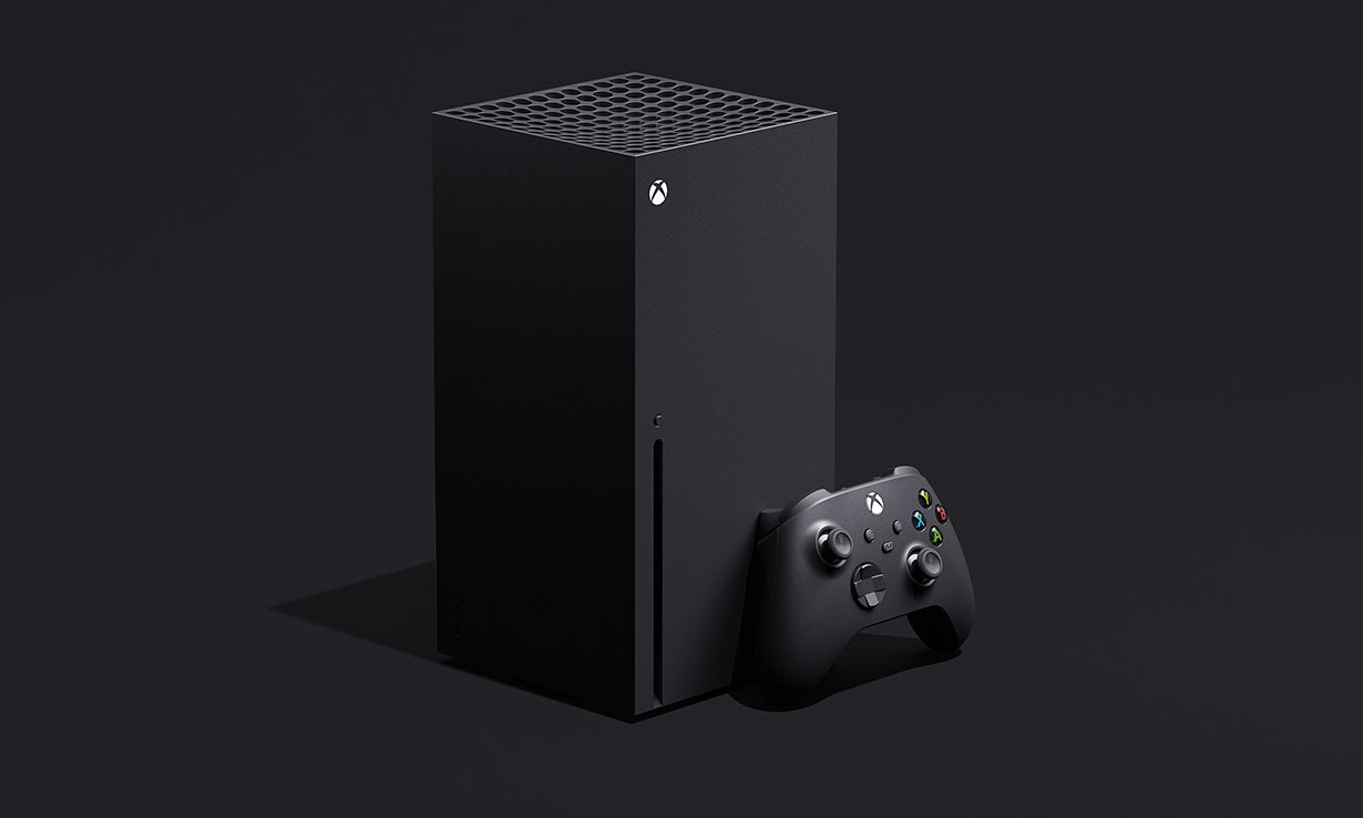 The Xbox Series X and new Xbox controller