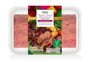 Tesco plant chef vegan roast