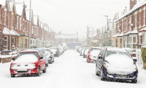 Winter in the UK