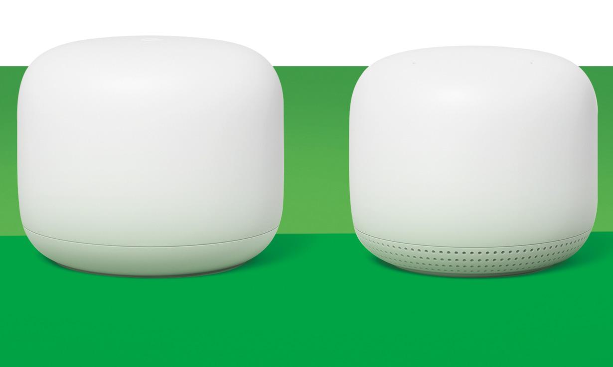Google Nest wi-fi and Poinit