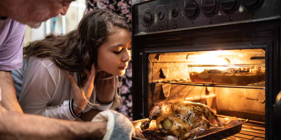 What to do if your turkey won't fit in the oven