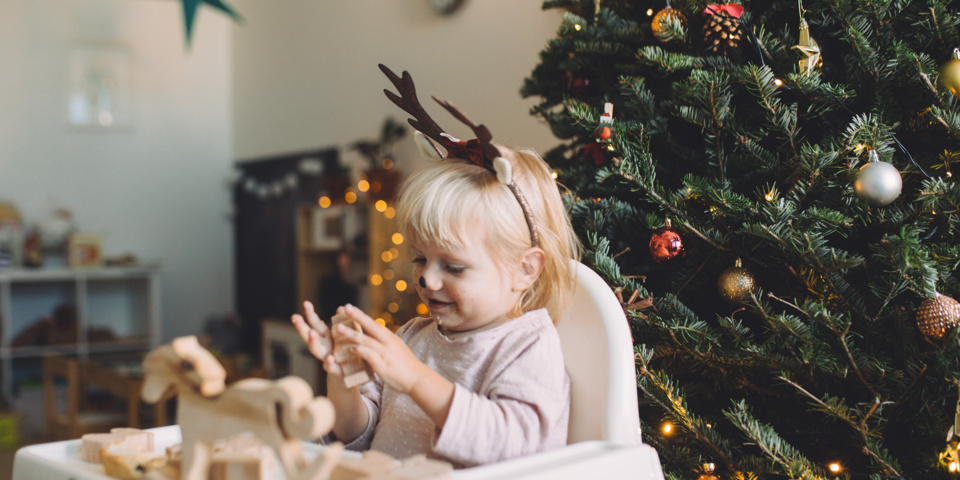 Easy to clean high chairs for Christmas dinner
