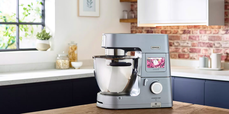 Kenwood Cooking Chef XL: the mixer that weighs, cooks and connects to your phone
