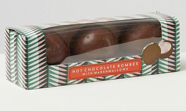 Oliver Bonas hot chocolate bomb.