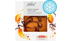 Tesco Finest Salted Caramel Cheesecake