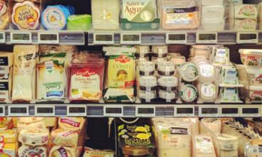 deli cheese counter