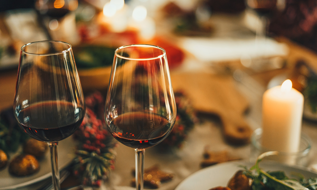 Red wine is rich in polyphenols, which have numerous health benefits