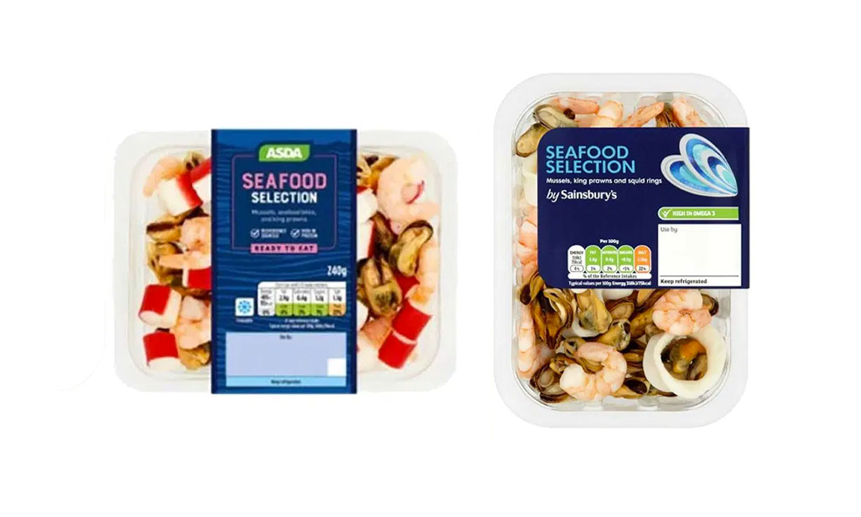 Asda seafood recall