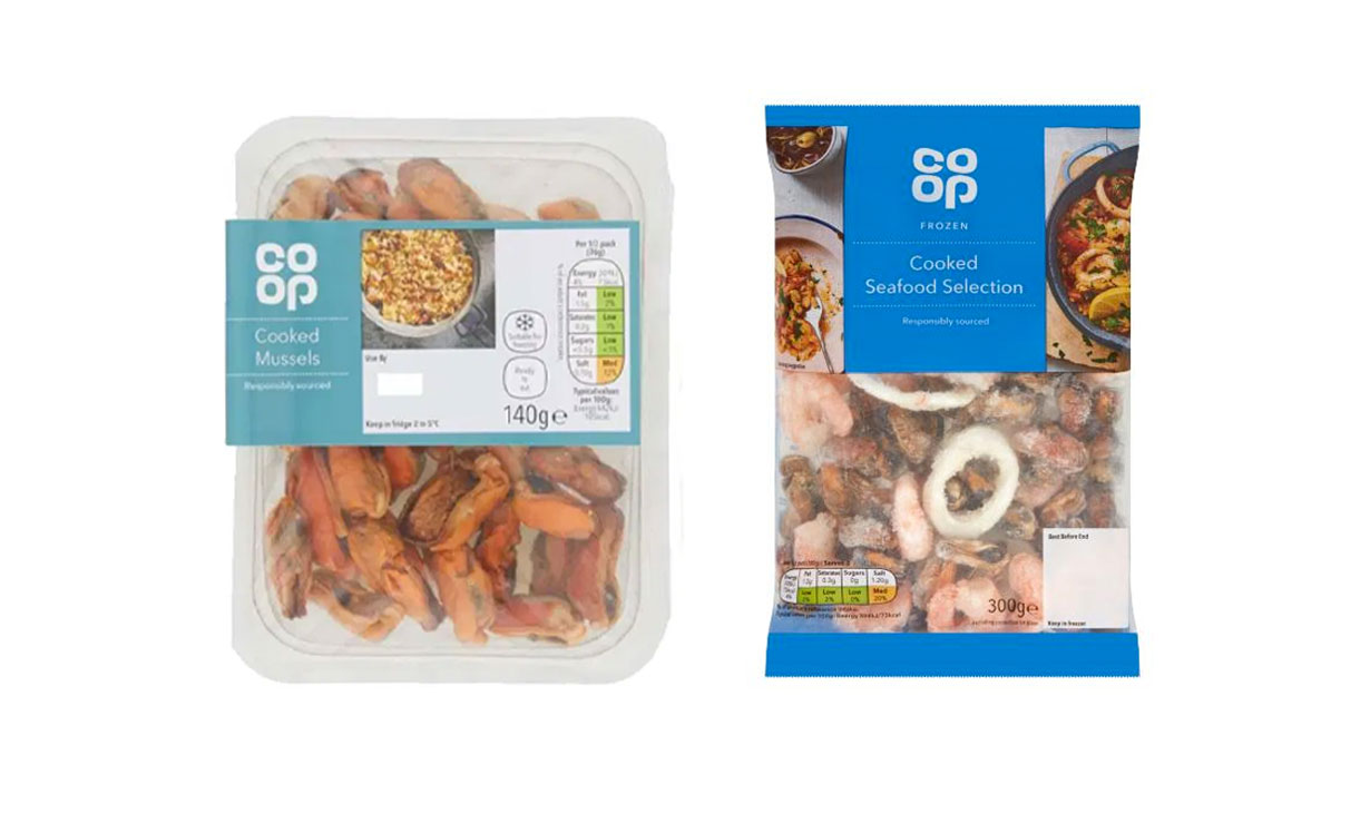 Co-op seafood recall
