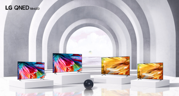 The LG QNED mini LED lineup