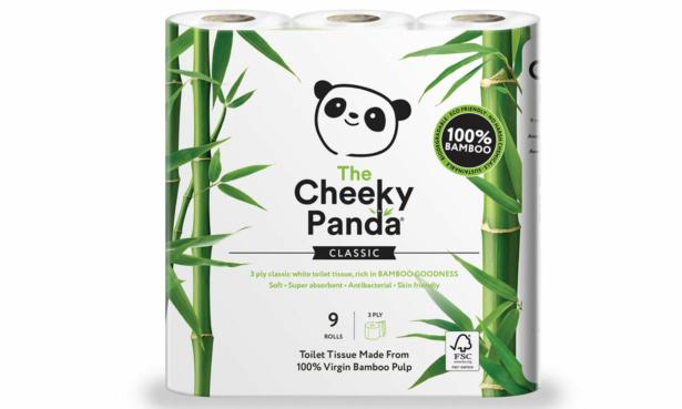The Cheeky Panda bamboo toilet paper