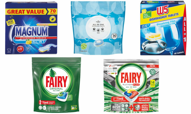 Cheapest dishwasher tablets