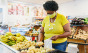 Which was the cheapest supermarket in January 2021?