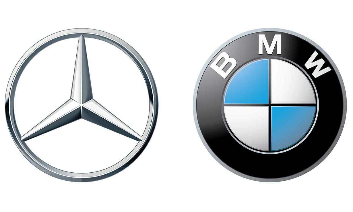 BMW & Mercedes logo