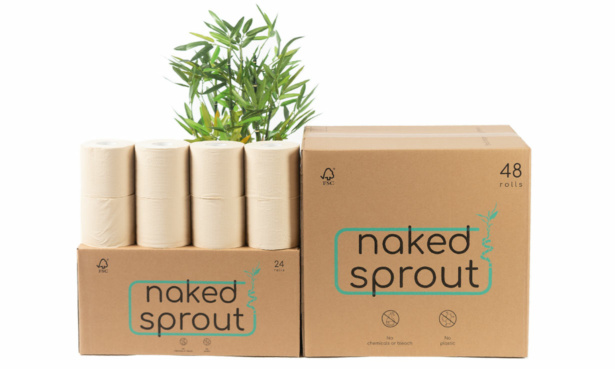 Naked Sprout bamboo toilet paper