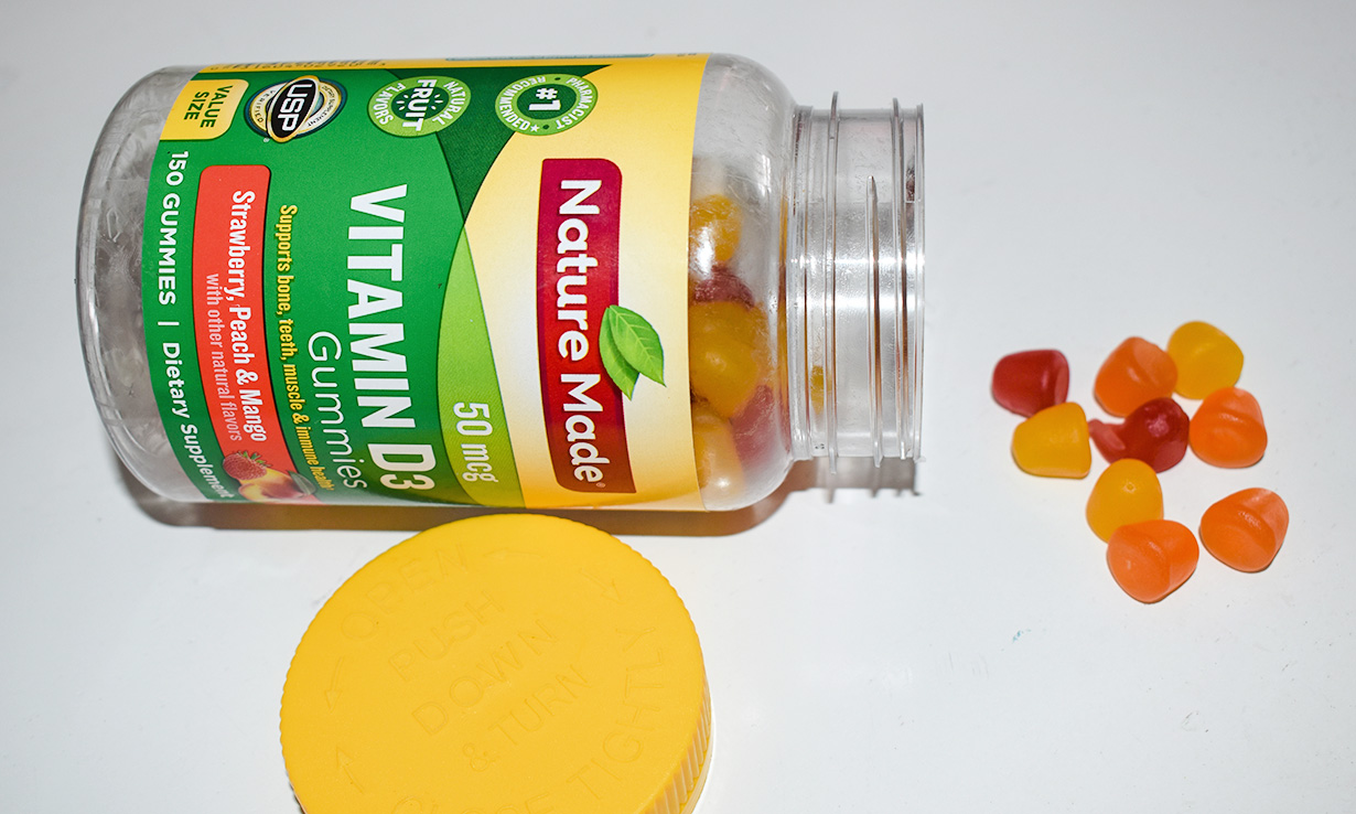 Gummies are just one way vitamin D can be given to children, as well as sprays and drops.