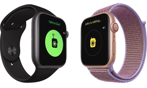 Apple Watch Walkie Talkie feature