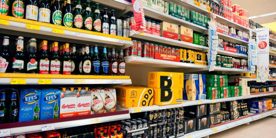 Budget 2021: alcohol duties frozen