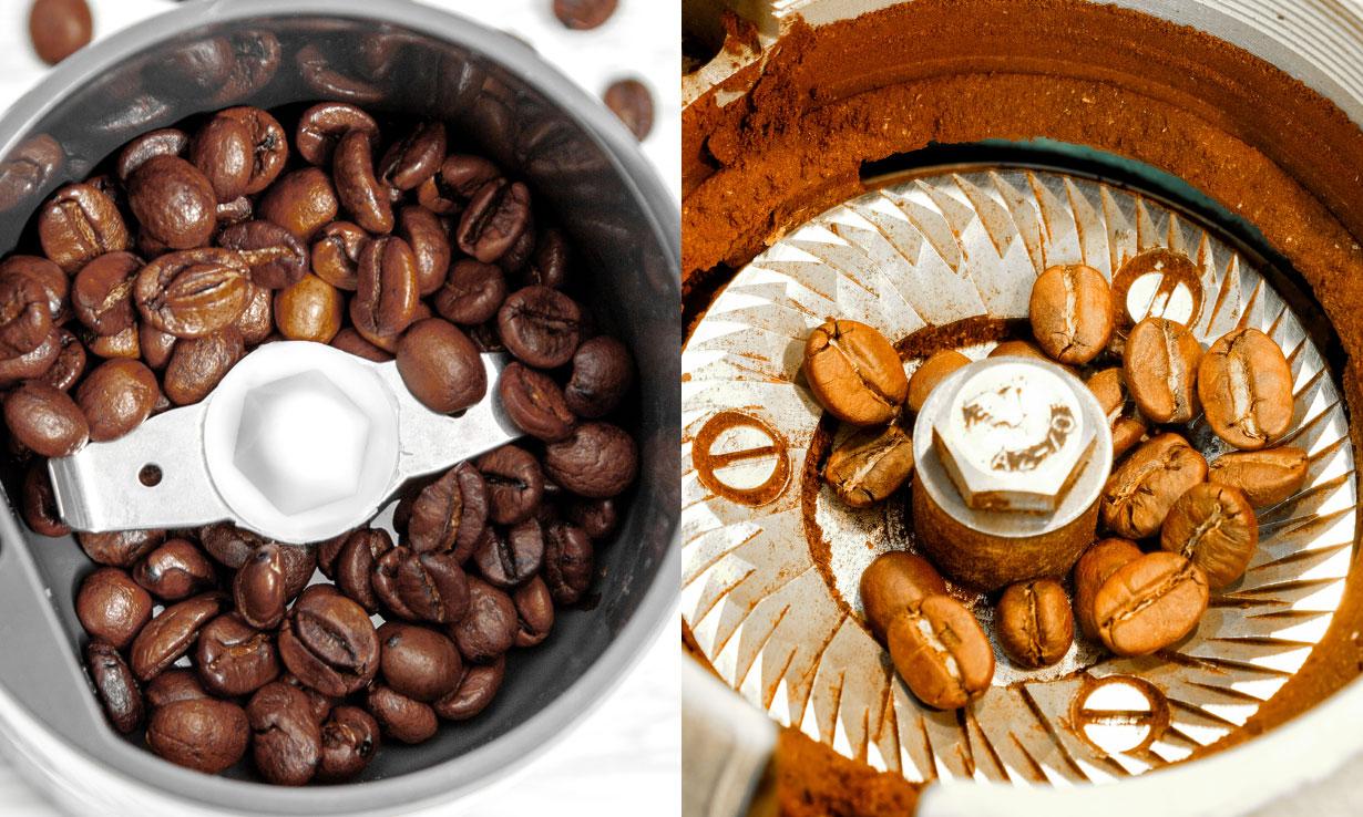 blade coffee grinder vs burr coffee grinder