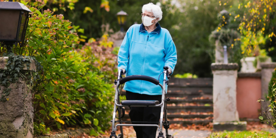 What the roadmap out of lockdown means for older people