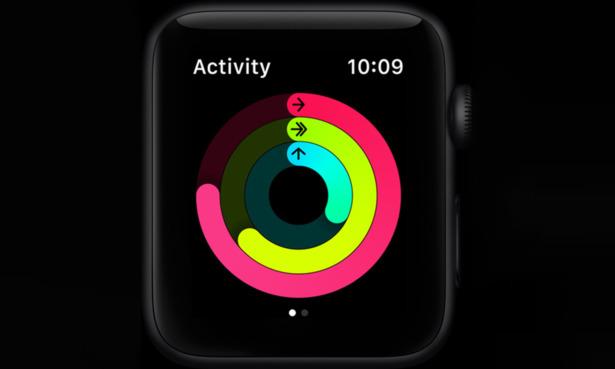 Apple Watch Series 6 fitness rings