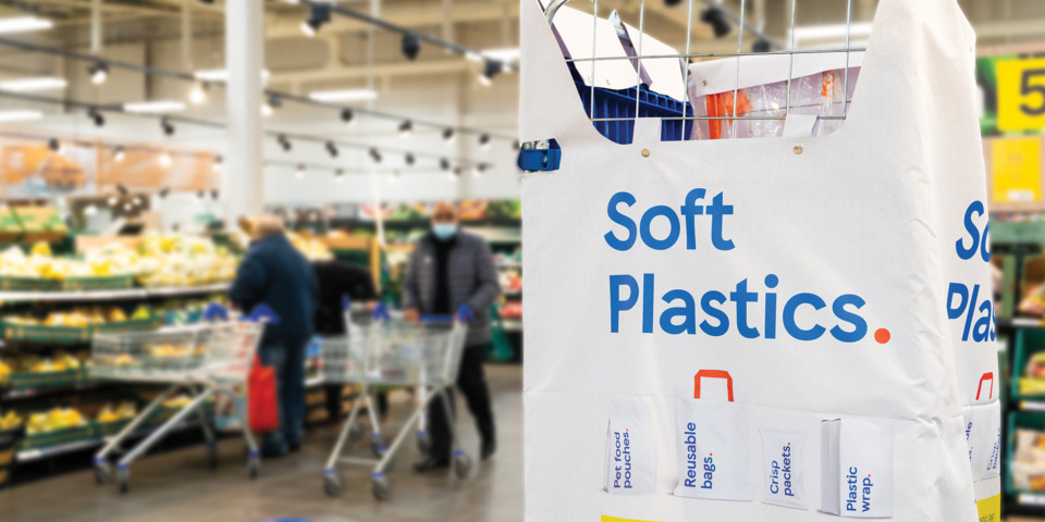 New soft plastic recycling scheme launches at Tesco