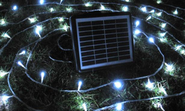 Powerbee Endurance solar fairy lights.