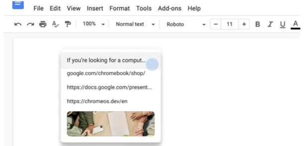 ChromeOS clipboard storage