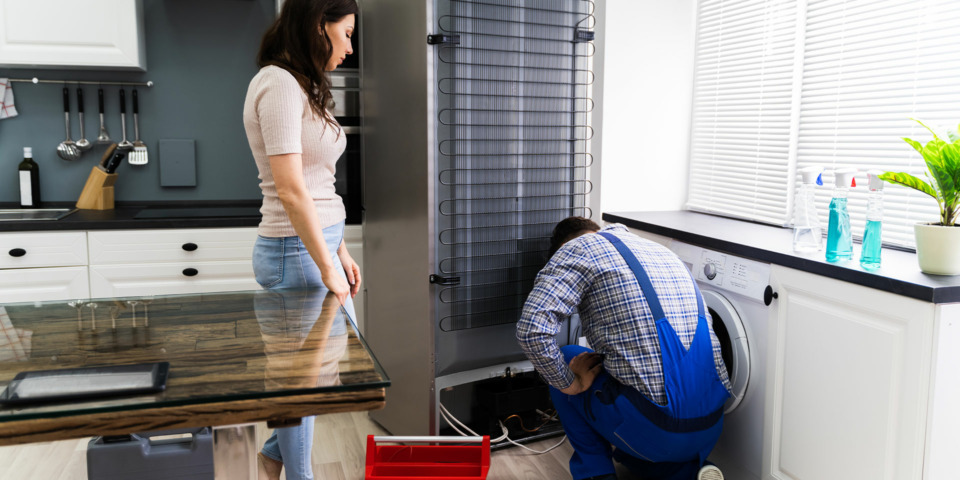 Seven common fridge freezer faults and how to deal with them
