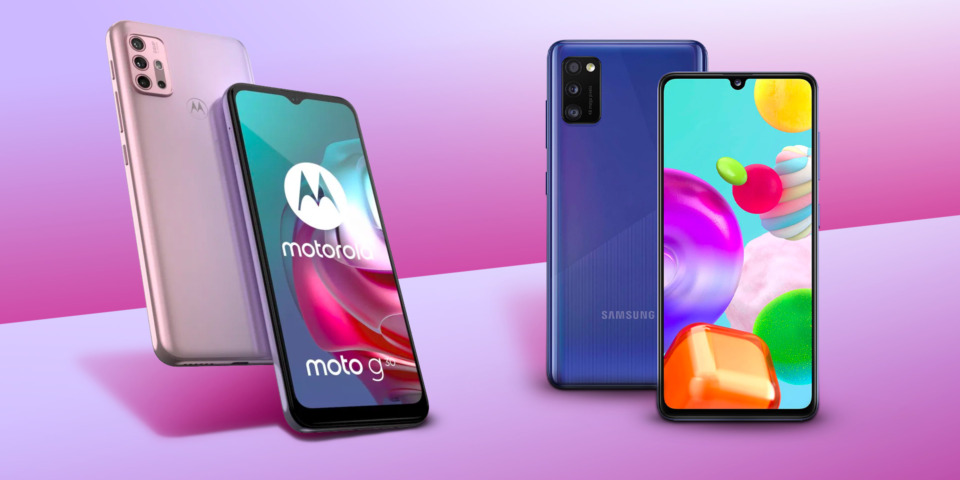 Samsung vs Motorola: who has the best phone for under £250?