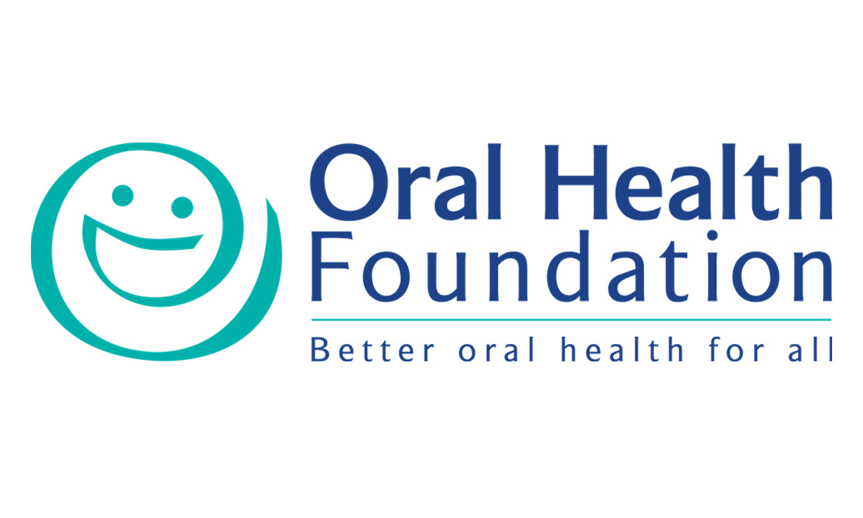 This is the logo for the oral health foundation