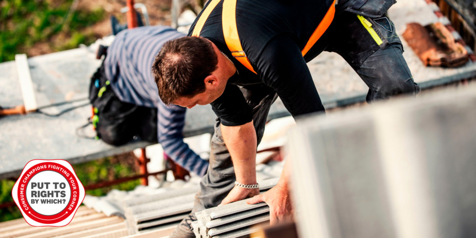 'A rogue roofer duped me into forking out for repairs using a fake logo'