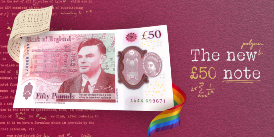 The Alan Turing £50 note: eight things you need to know