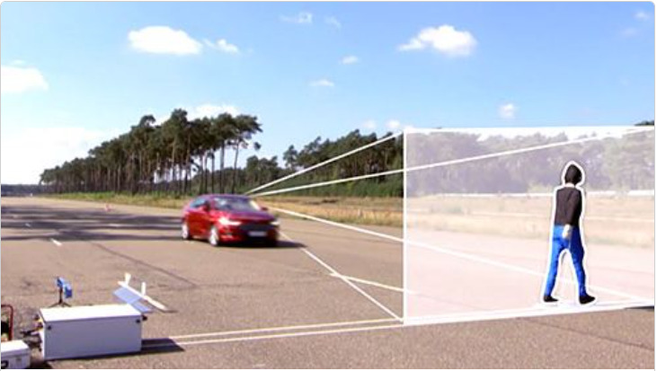 Autonomous emergency braking system AEB