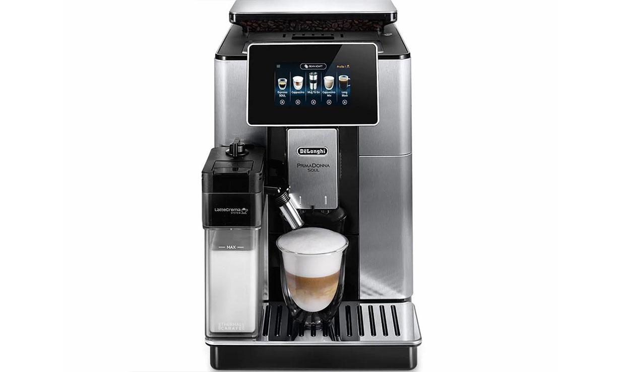 DeLonghi ECAM Prima Donna Soul coffee machine