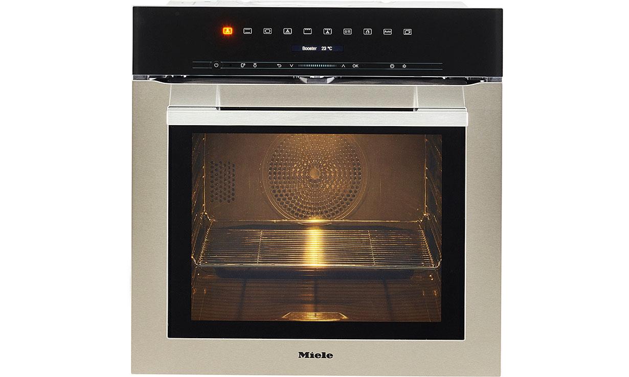 Miele H7164BP single oven